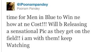 Poonam Pandey to Strip on Bigg Boss 5?