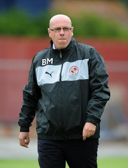 Brian McDermott feels his Reading side are not fulfilling their potential