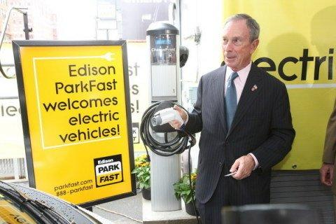 ChargePoint Applauds New York City Mayor Bloomberg's Call for EV Readiness
