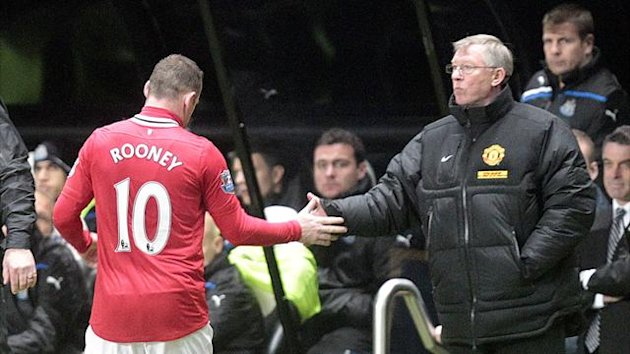 Premier League 2011/2013 Manchester United Rooney Ferguson