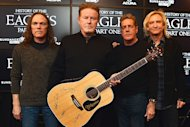 Timothy B. Schmit, Don Henley, Glenn Frey and Joe Walsh of The Eagles attend the &#39;History of the Eagles Part 1&#39; Documentary Announcement during the 2013 Sundance Film Festival on January 19th, 2013 in Park City, Utah.