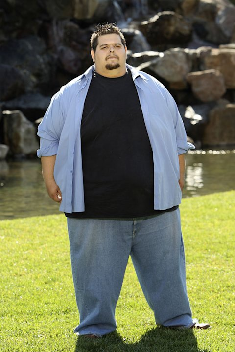 "James, 25, at 651 pounds as seen on ""Extreme Makeover: Weight Loss Edition."""