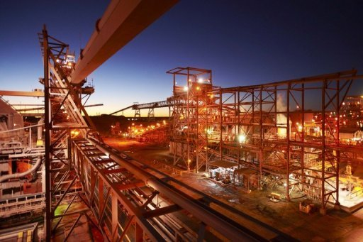 <p>An undated handout photo, released by BHP Billiton, shows a copper/uranium/gold/silver processing plant in South Australia. Australia's mineral-rich Queensland state reversed a decades-long ban on uranium mining on Monday, citing rekindled interest in the nuclear fuel after Canberra gave the go-ahead to exports to India.</p>