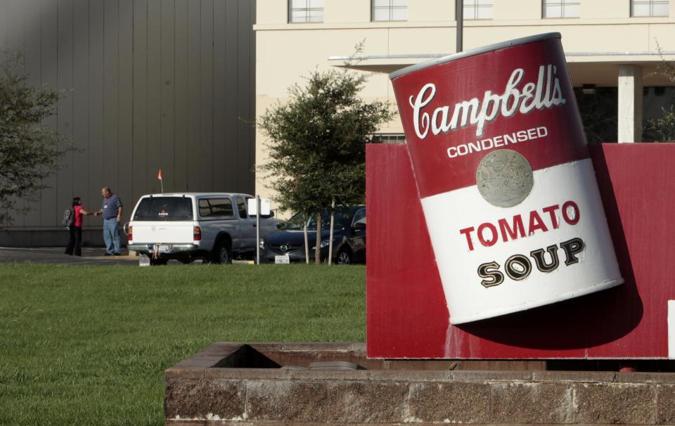 Campbell closing plants as soup consumption falls