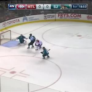 Alex Stalock Save on Devante Smith-Pelly (01:08/1st)