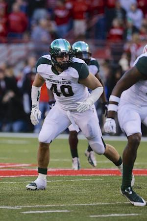 Mich. State LB Bullough suspended for Rose Bowl