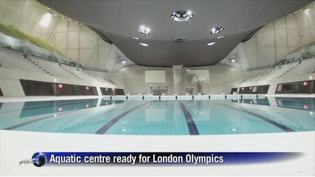 London's new Aquatics Centre ready for Olympics