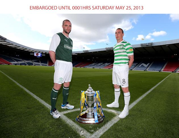 Soccer - 2013 William Hill Scottish Cup Final - Celtic v Hibernian - Hampden Park