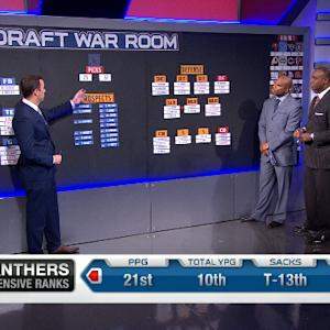 Draft War Room: Carolina Panthers