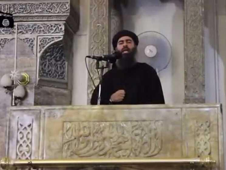 ISIS leader Baghdadi is reportedly 'unable to move' after a spinal injury