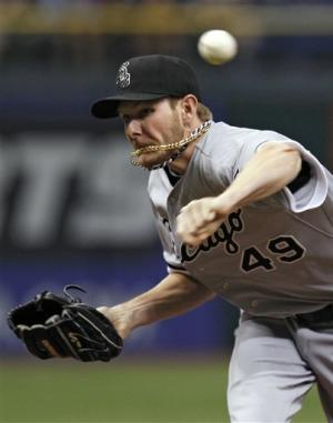 Sale has 15 strikeouts as White Sox beat Rays 2-1