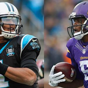 Panthers at Vikings Preview