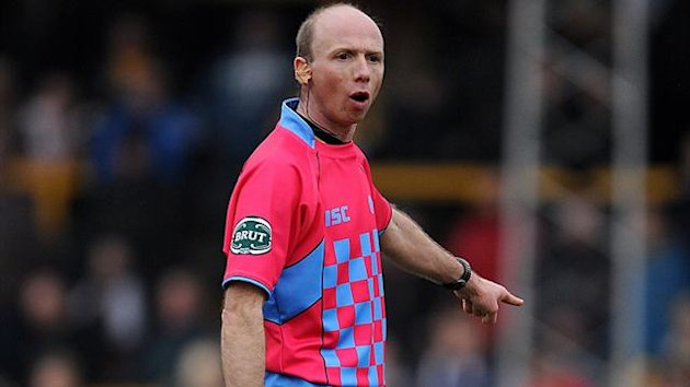 Thierry Alibert, match referee
