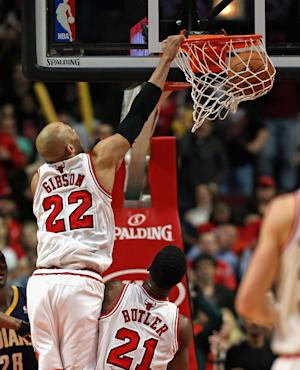 Gibson scores 23, leads Bulls past Pacers 89-77