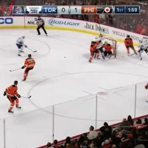 Steve Mason Save on Nazem Kadri (18:06/1st)