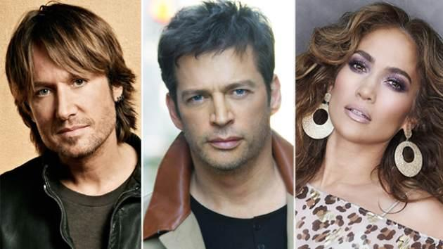 Keith Urban, Harry Connick Jr., Jennifer Lopez -- FOX