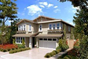 Model Homes Nearing Completion at William Lyon Homes' Willow Bend in University Park