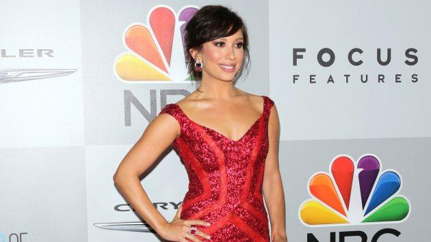 Cheryl Burke attends the NBC Universal's 71st annual Golden Globe Awards after party at The Beverly Hilton Hotel on January 12, 2014 in Beverly Hills -- Getty Images