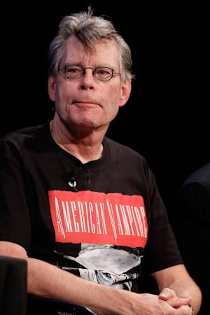 Stephen King speaks at the 2010 New Yorker Festival at Acura at SIR Stage37 in New York City on October 2, 2010  -- Getty Images