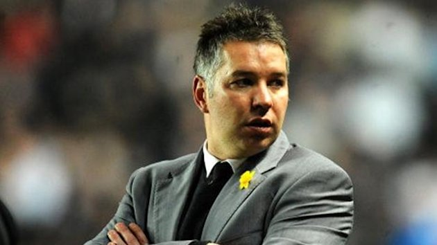 Peterborough United's manager Darren Ferguson