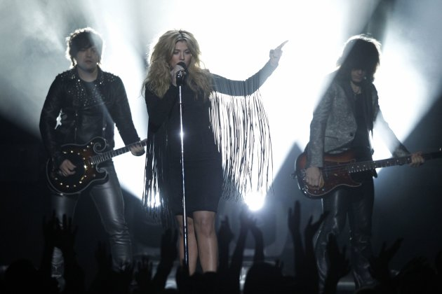 The Band Perry performs during the Billboard Music Awards at the MGM Grand Garden Arena in Las Vegas