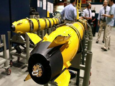 Navy focuses on developing undersea drones