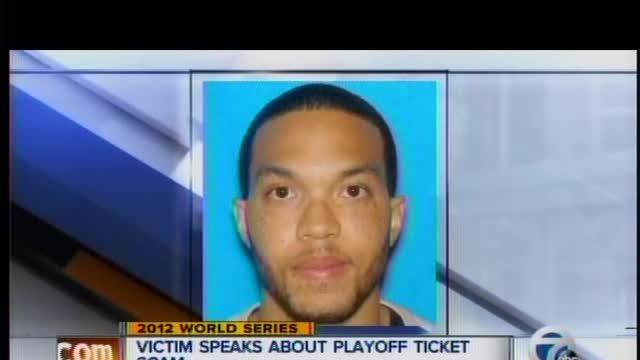 Victim speaks about playoff ticket scam