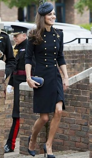 Kate Middleton military