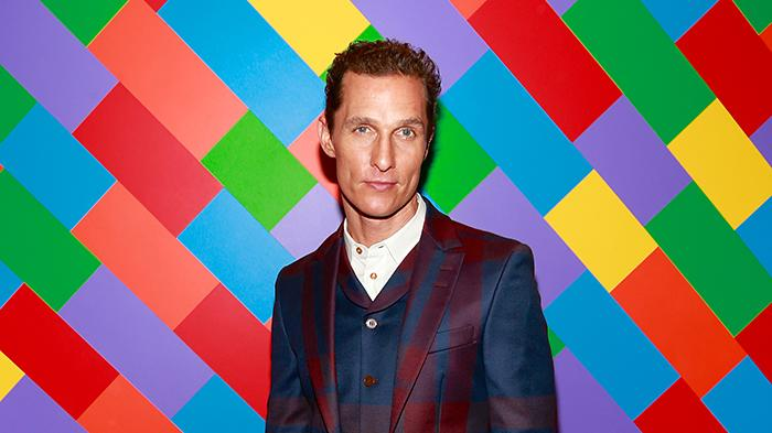 Matthew McConaughey at his April 2013 premiere of 'Mud'