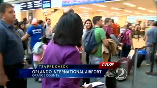 TSA's pre-check program expands at Orlando airport