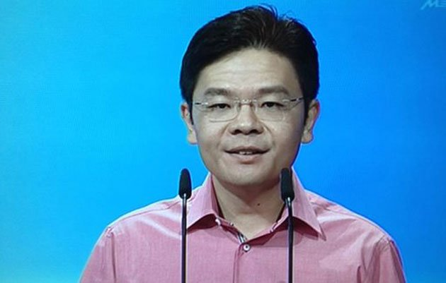 MP Lawrence Wong complains about politicising over two recent events. (Screengrab)