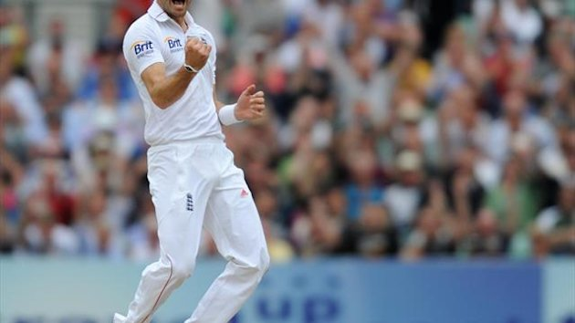 James Anderson was happy with the England performance on day one of the third Test