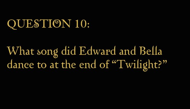 Trivia Pics The Twilight Saga gallery 2010