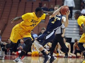 UC Irvine knocks off top seed Long Beach St. 67-60