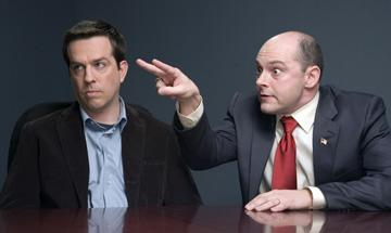 Ed Helms and Rob Corddry in New Line Cinema's Harold and Kumar Escape From Guantanamo Bay