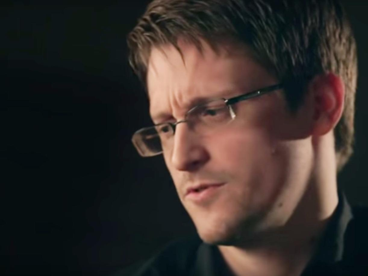 Snowden answered the question, 'Aren't you a traitor?' — and it was puzzling