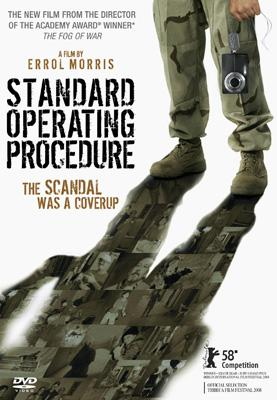 DVD box art for Sony Pictures Classics' Standard Operating Procedure