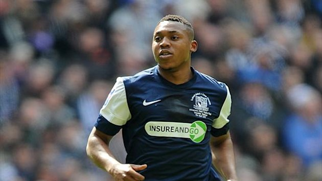 Britt Assombalonga on duty for Southend United (PA Photos)