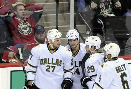 Benn's goal gives streaking Stars 1-0 win vs. Wild