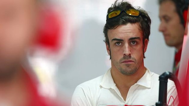 2012 India GP Ferrari Alonso