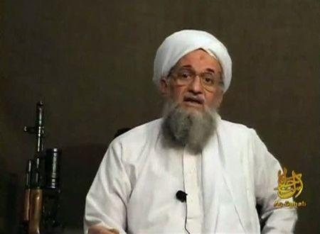 Still image from video shows then-Al Qaeda's second-in-command Ayman al-Zawahri speaking from an unknown location in this file photo