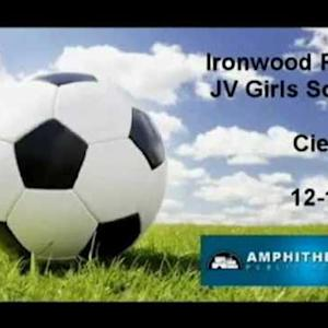 Ironwood Ridge Girls JV Soccer vs. Cienega 12/12/14 (W) 4-0