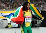 Former world champion Caster Semenya, pictured in 2011, won an 800 metres race in one minute 59.58 seconds Friday to secure a place in the South African team for the Olympic Games