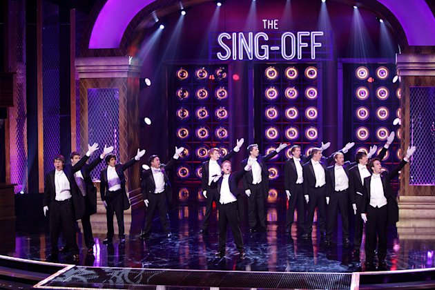 "The Whiffenpoofs of Yale on the second season of ""The Sing-Off."" Comprising 14 senior Yale men, the ""Whiffs"" were founded in 1909 and are the world's oldest collegiate a cappella group. What began as"