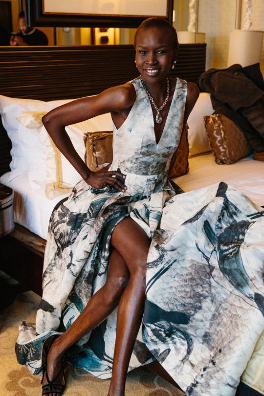 How Alek Wek and H&M Are Helping Save Lives in Sudan