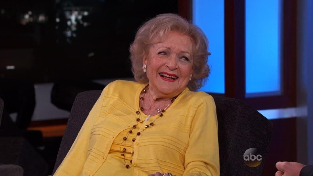 Oh No Why Does Betty White Have a Black Eye