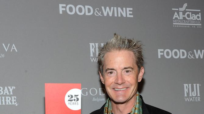 IMAGE DISTRIBUTED FOR FOOD & WINE - Actor Kyle MacLachlan attends the 2013 FOOD & WINE Best New Chefs 25th anniversary celebration at Pranna on Tuesday, April 2, 2013 in New York City, New York.  (Photo by Diane Bondareff/Invision for FOOD & WINE/AP Images)