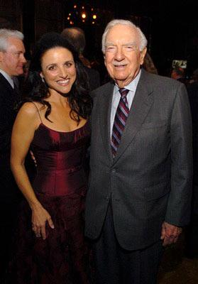Julia Louis-Dreyfus and Walter Cronkite 'Seinfeld' DVD Release Party New York City - 11/17/04