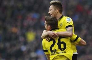Wolfsburg 3-3 Borussia Dortmund: Reus rescues sloppy Schwarzgelben with late double