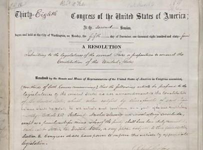 The Case Of The Missing 13th Amendment To The Constitution